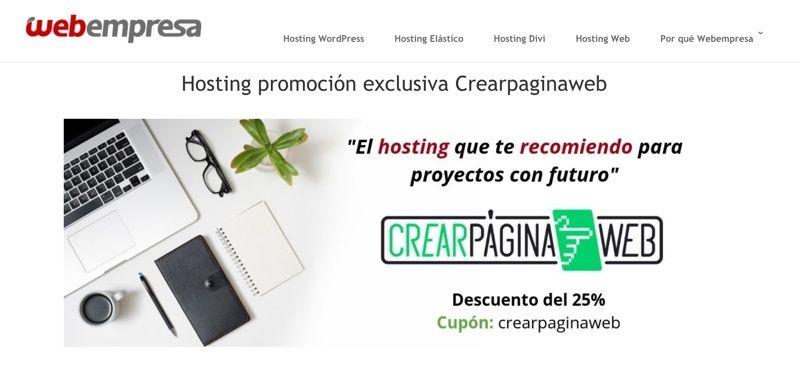 Promocion Webempresa